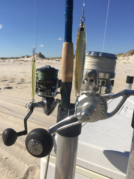 NJ Surf Fishing Albie Shell E Caris Tackle