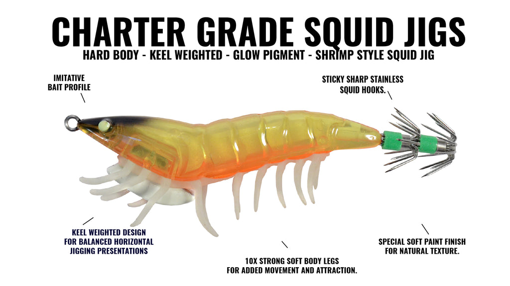 Hogy Charter Greade Squid Jig
