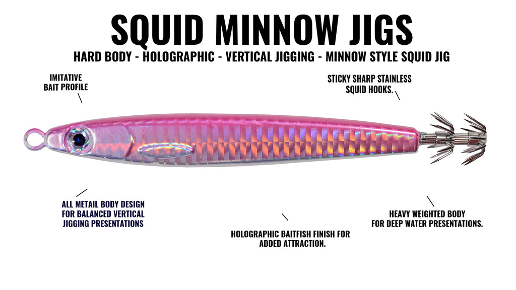 Hogy Squid Minnow Squid Jig
