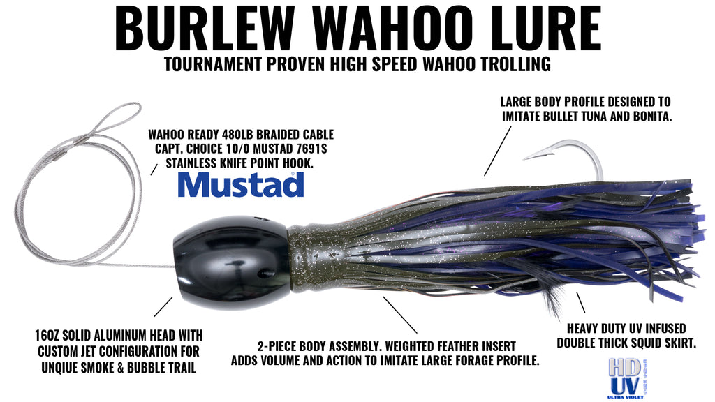 Cory Burlew High Speed Wahoo Lure
