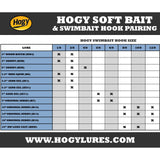 Barbarian Swimbait Hook: 6/0 (1/2oz) (Single)
