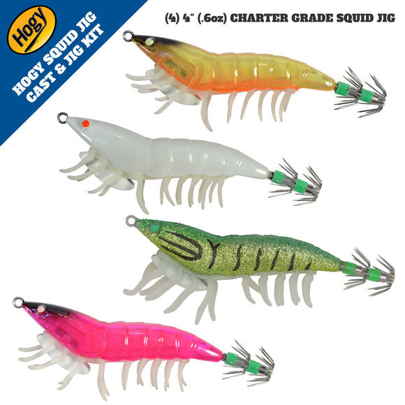 SQUID JIG KIT (4pc)