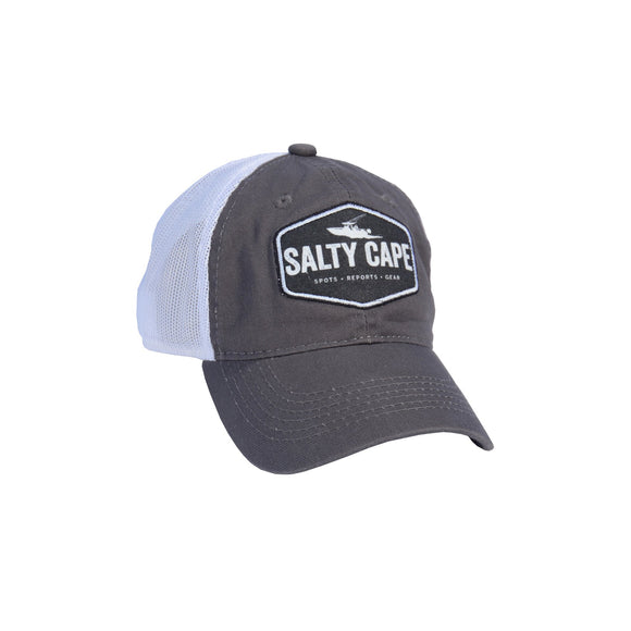 Salty Cape Hat: Charcoal