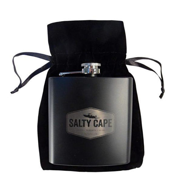 Salty Cape Flask: Black