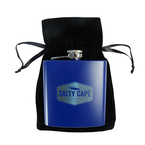 Salty Cape Flask: Blue