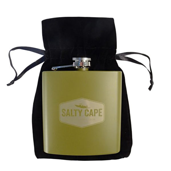 Salty Cape Flask: Olive