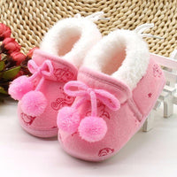 Winter Pom Pom Shoes