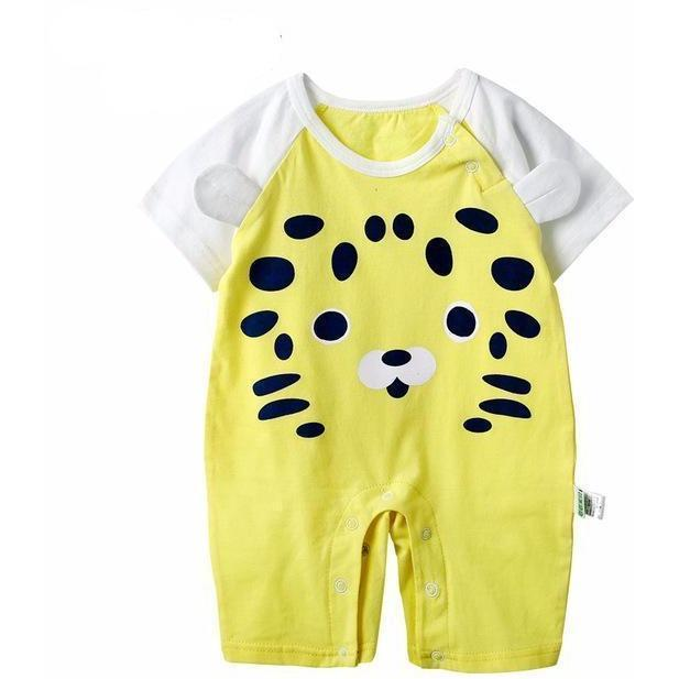 Spotted Lion Romper