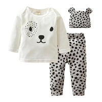 Polkadot Bear Set/3pc
