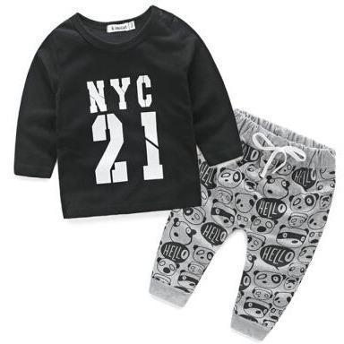 NYC Top & Bottom/2pc