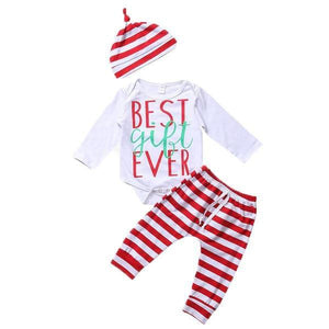 """Best Gift Ever"" Outfit/3pc"