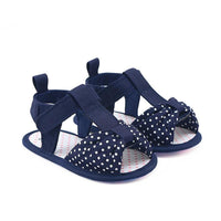 Adorable Soft-Soled Baby Girl Sandals