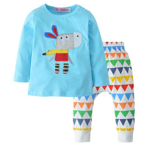 Little Donkey Top & Bottom