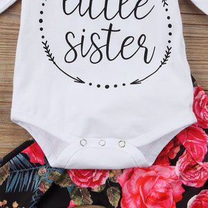 Little Sister Floral Set - 3 Pieces