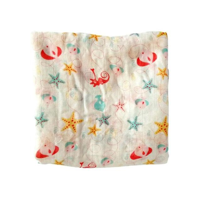 Colorful Muslin Blanket