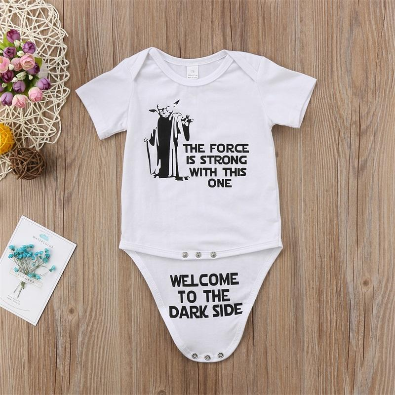 """Welcome to the Dark Side"" Onesie"