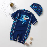 Shark Swimwear - Full Bodysuit for UV Protection