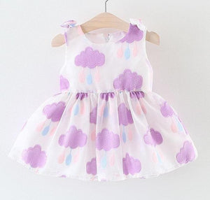 Purple Cloud Dress - Perfect for that Rainy Day