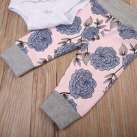 """Daddy's Princess"" Floral Set"