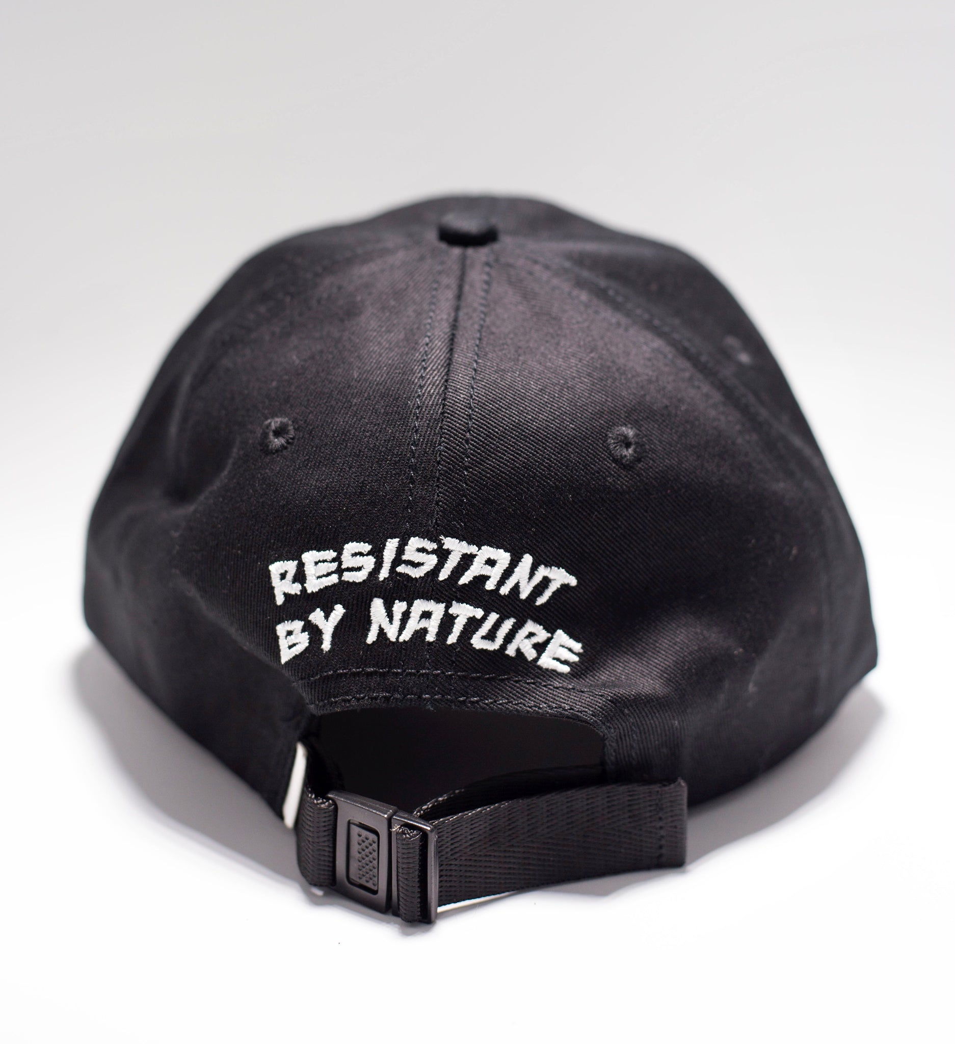 "Logo Dad Hat in ""Black"" - Resistant By Nature"