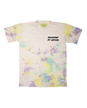 Spattered Dyed Tee (PURPLE)
