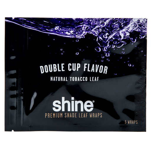 Shine Pure Leaf Wrap - 3 per pack