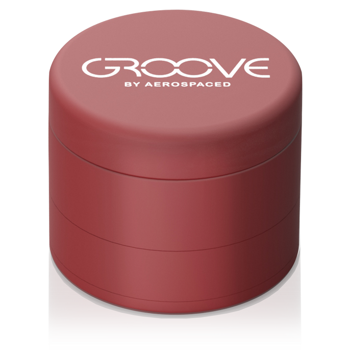 "Groove by Aerospaced - 2"" 4-Piece Grinder / Sifter"