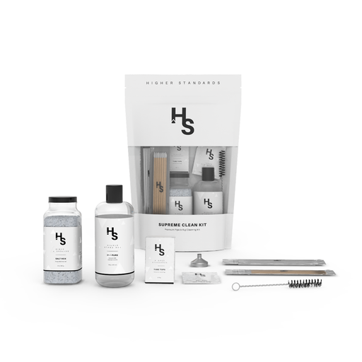 Higher Standards Supreme Clean Kit Includes