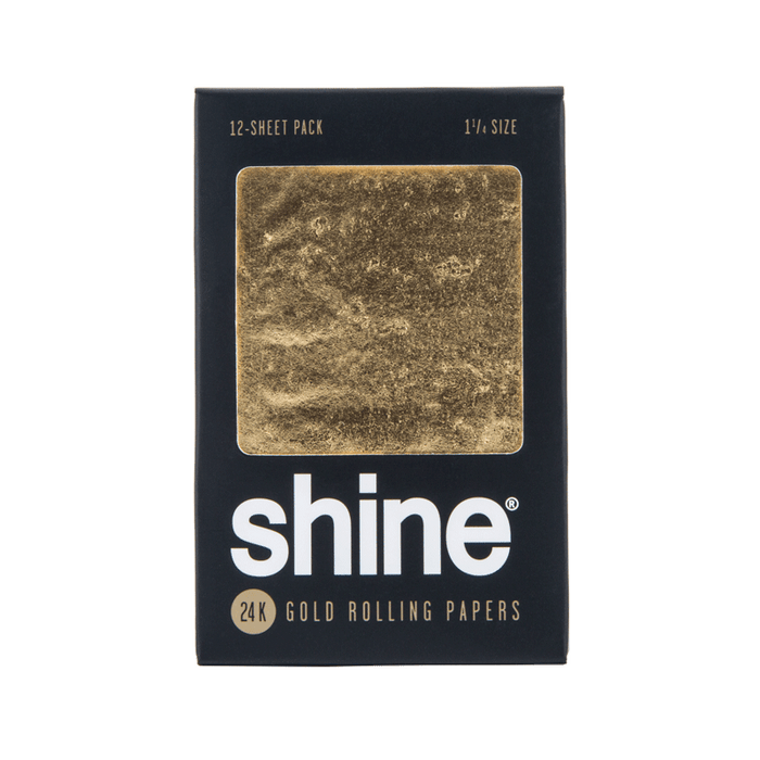 Shine 24k Gold papers - 12 sheets per pack
