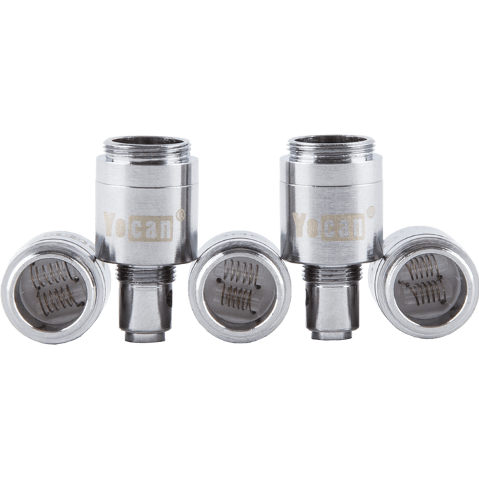 Dual Quartz Atomizers for Yocan Evolve Vape Pens - 5 Pack