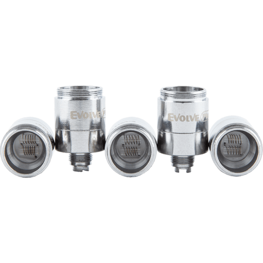 5 Pack of Dual Quartz Atomizers for Yocan Evolve Plus Vape Pens
