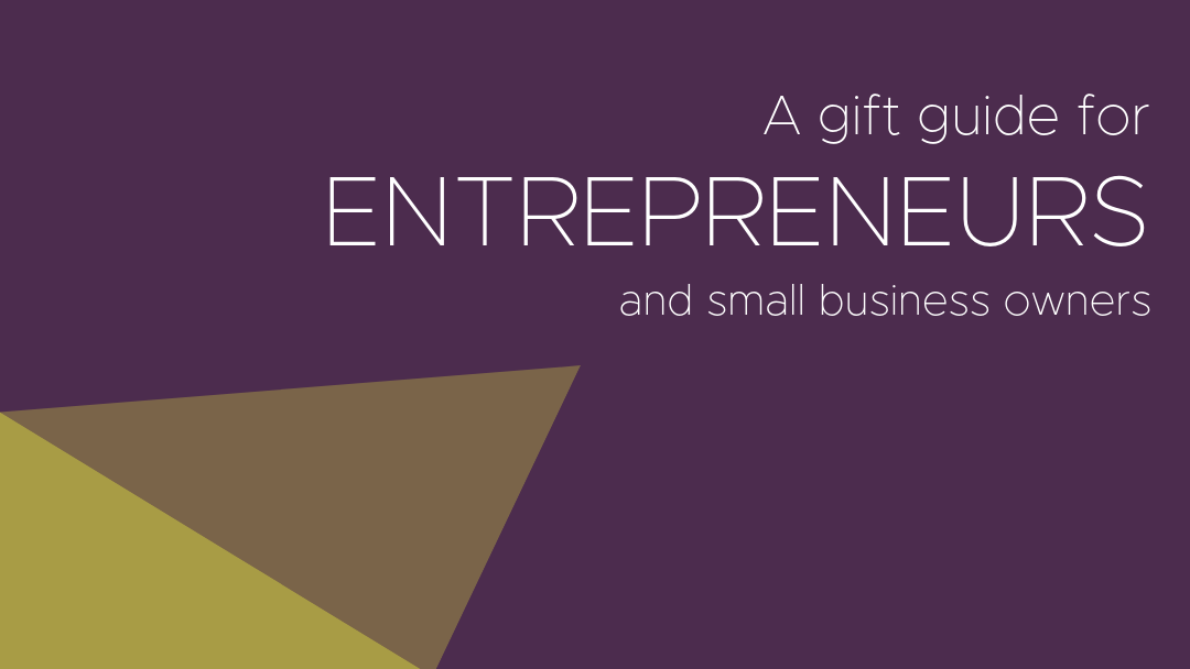 gift guide for business owners and entrepreneurs by small business consultant in bozeman montana