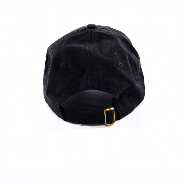 """John Hancock"" Dad Hat - Black w/ White"