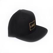 """LGND"" Snap Back - Black w/ Gold"