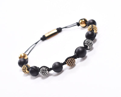 Legend Black & Gold Onyx Bracelet