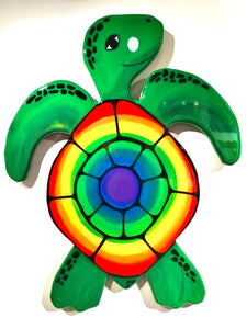 Large Rainbow Turtle