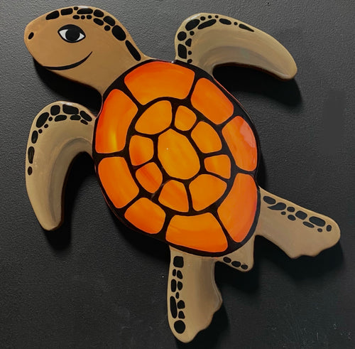 Small Orange Turtle
