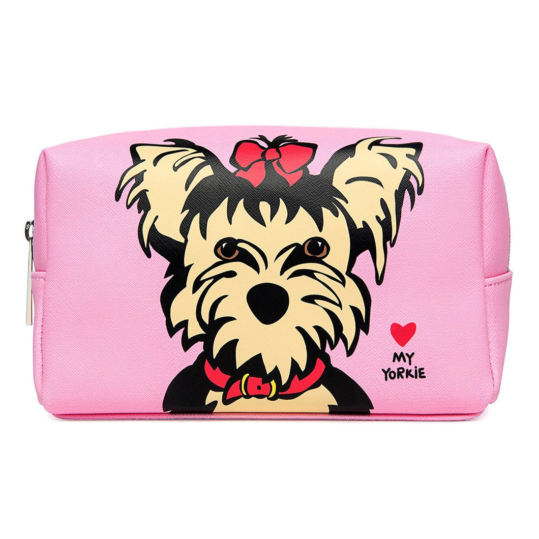 Yorkie Cosmetic Case