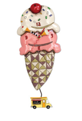 Ice Cream Clock