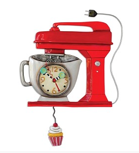 The Red Mixer Clock
