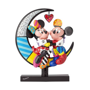 Mickey and Minnie on Moon