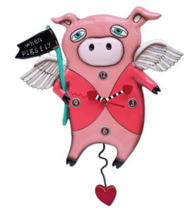 The Little Piggy Clock
