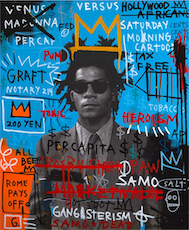 Blue Basquiat