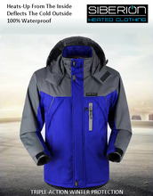 SubZero™ Unisex Electric Heated Winter Coat & Ski Jacket with 3 Active Heat Zones by Siberion®