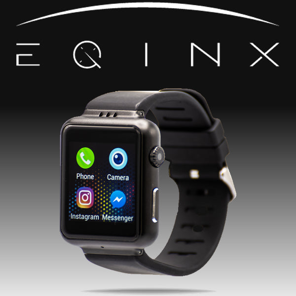 EQINX (Equinox) Android System 4G Cell Phone, Watch, & Fitness Tracker with Video Calls - Unlocked