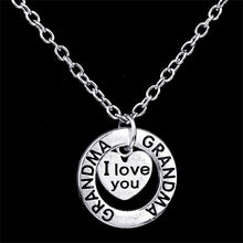 "I Love You Necklace with Pendant - 18"" Chain"