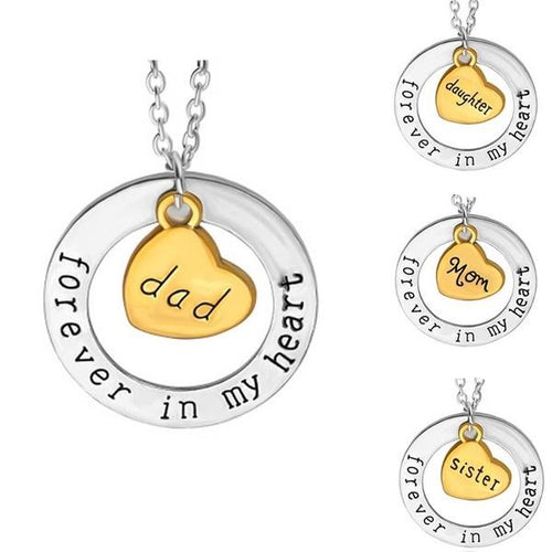 Forever In My Heart Necklace with Pendant - 22