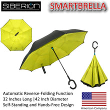 SmartBrella™ - The Brand New Genius Reverse-Folding Free-Standing Umbrella by Siberion®