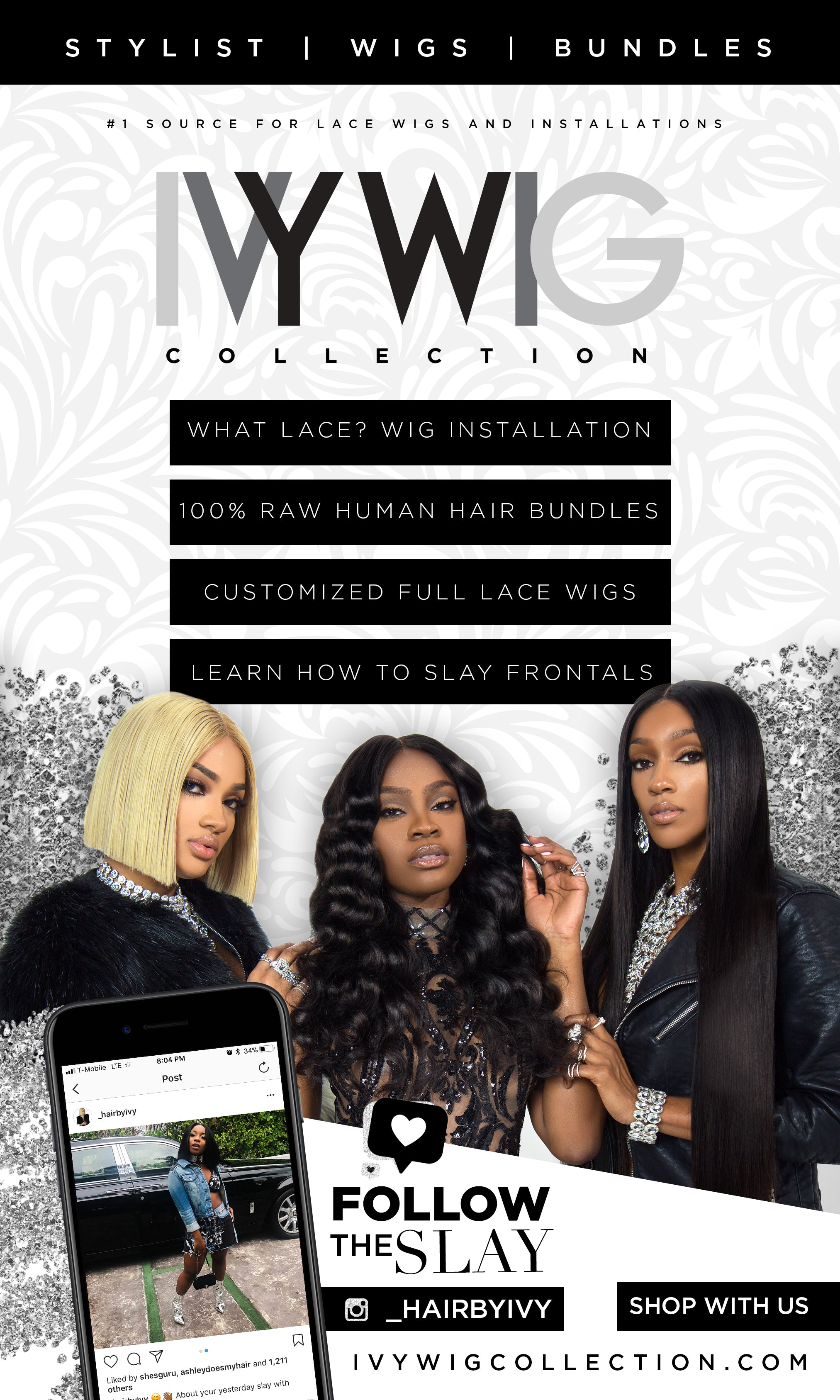 Ivy Wig Collection