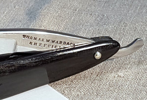 A Victorian wedge razor by Thomas W. Ward